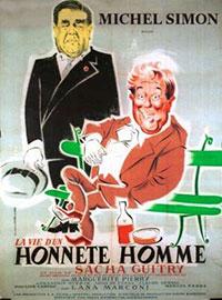 La Vie D'un Honnête Homme : honnête, homme, Honnête, Homme, (1953), Sacha, Guitry, L'Oeil, L'écran