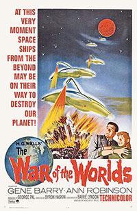 La Guerre Des Mondes 1953 : guerre, mondes, Guerre, Mondes, (1953), Byron, Haskin, L'Oeil, L'écran