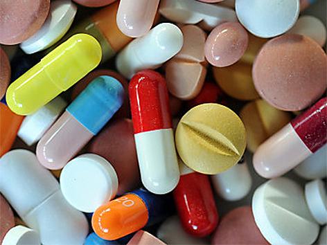 Pillen Tabletten Medikamente Medizin