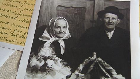 Feldpostkarten Berhrende Zeugnisse  Burgenland heute