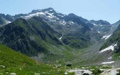 Verwilderte Alpen des Piemonts