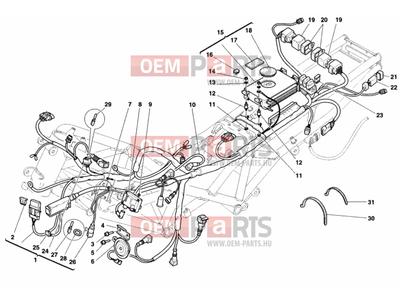 Ducati Sporttouring ST2 WIRING HARNESS » WIRING HARNESS