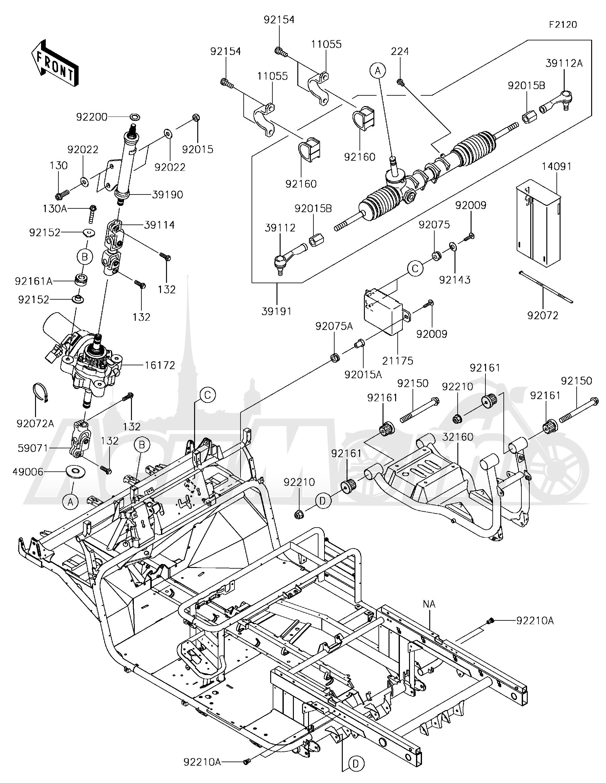 Kawasaki mule 4010 fuse box diagram
