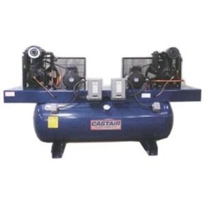 Castair 10HP (2x5) Duplex Air Compressor 1 Phase RPM 767