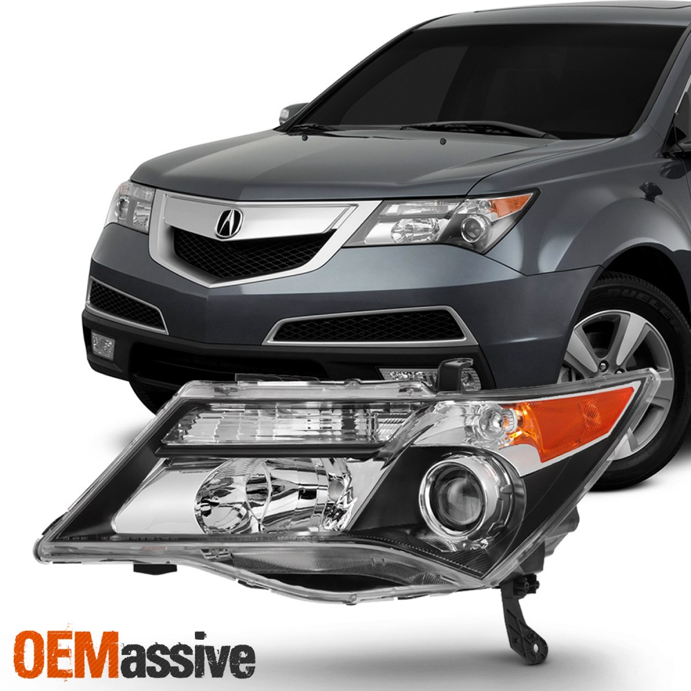 medium resolution of hid xenon style headlights for acura mdx 2007 2008 2009 driver left acura tl 2017 acura mdx 2009 acura mdx headlights hid headlight wiring
