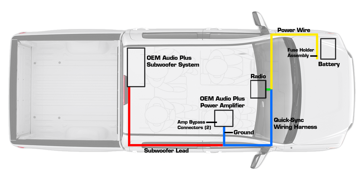 amp and sub wiring diagram 150 watt hps ballast tundra crewmax oem audio plus personalize your experience