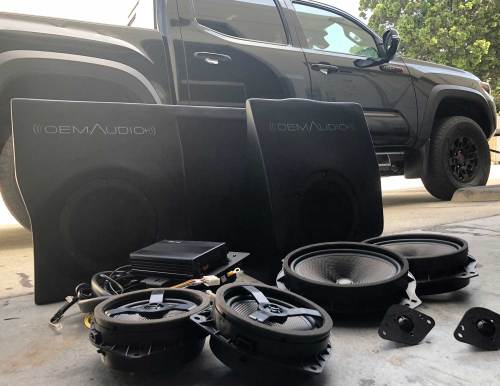small resolution of features designed and tuned specifically for the toyota tacoma