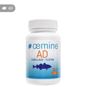 Oemine AD - Vitamines A et D3 naturelles pour le maintien de la structure osseuse