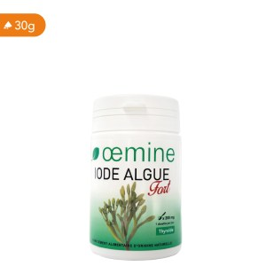 Oemine iode Algue fort pour un apport optimal d'iode organique