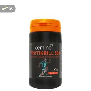 Oemine Protikrill 500 est destiné au tonus et renforcement musculaire