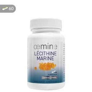 Lécithine marine aux oméga-3 pour la mémoire, la vision et le coeur