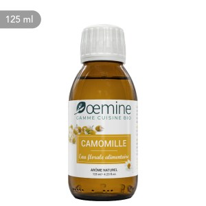 Hydrolat de Camomille certifié biologique. Sans conservateur.