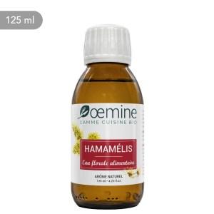 Hydrolat d'hamamélis certifié biologique. Sans conservateur.