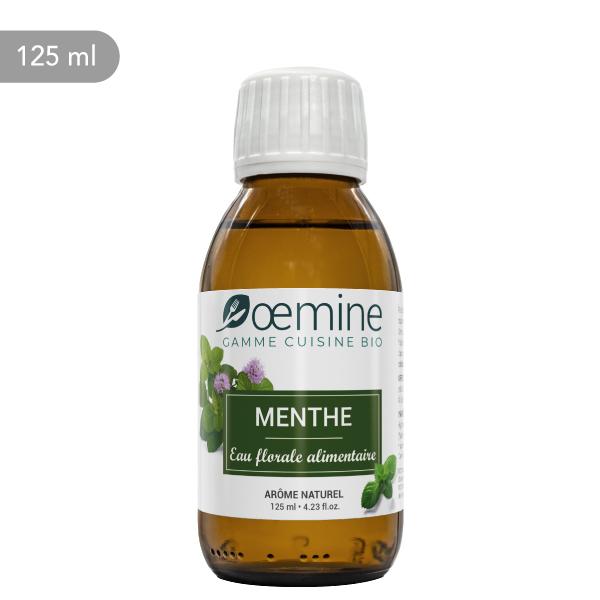 Hydrolat de Menthe poivrée certifié biologique. Sans conservateur.