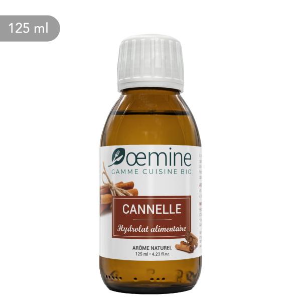 Hydrolat de Cannelle certifié biologique. Sans conservateur.