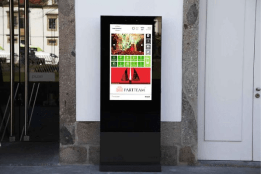 DOOH for Casa do Professor in Braga