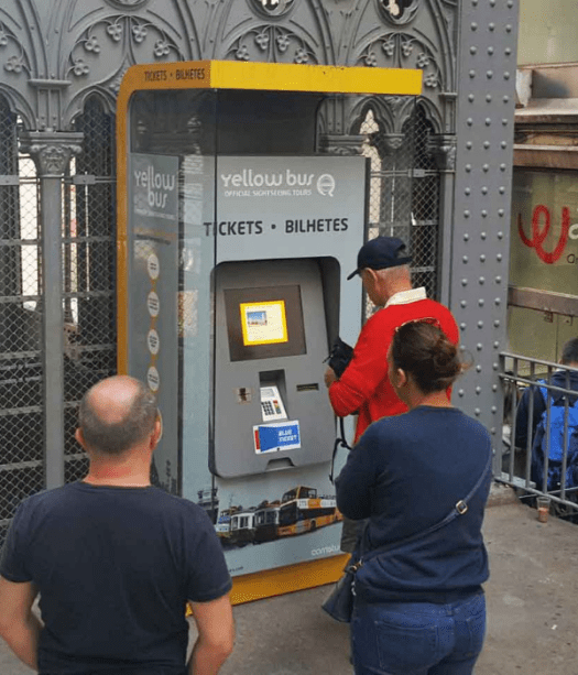 Self-Service Kiosk: Ticket Vending Machine (TVM) for Yellow Bus - Tourism