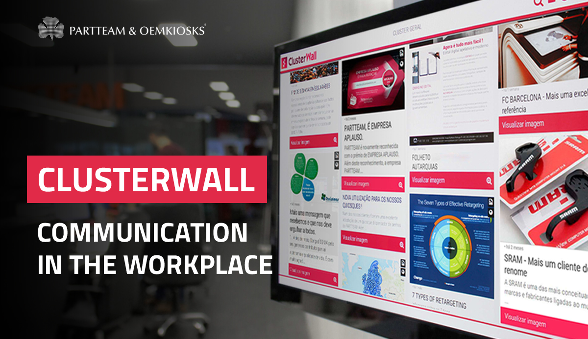 ClusterWall: How to improve communication in the workplace