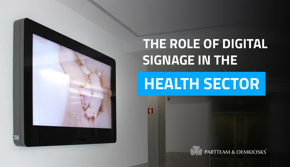 How digital signage can benefit the health sector