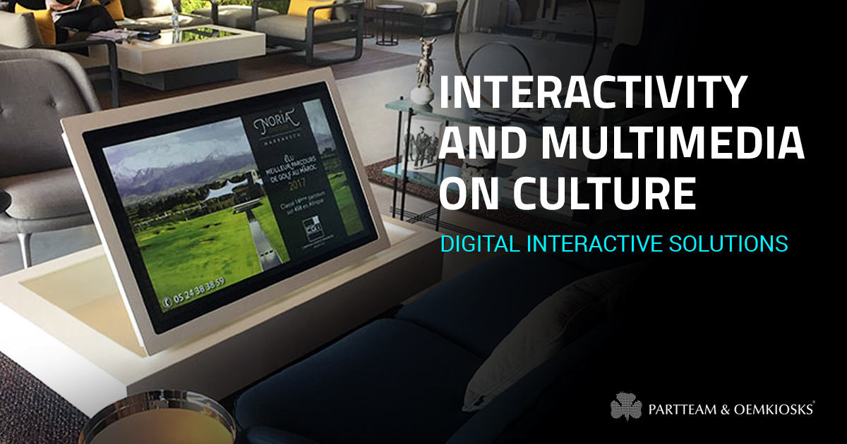 The impact of interactivity and multimedia on culture