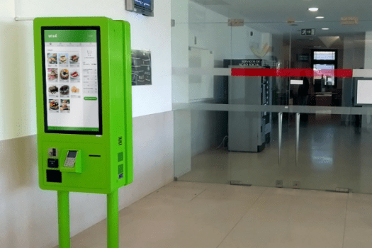 Self-Service Kiosks for the Social Services of UTAD
