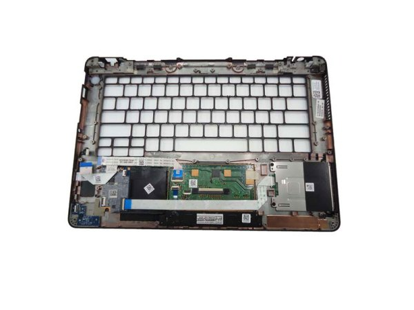 DELL Latitude E7270 Palmrest Touchpad Assembly W/Smart Card Readr P1J5D