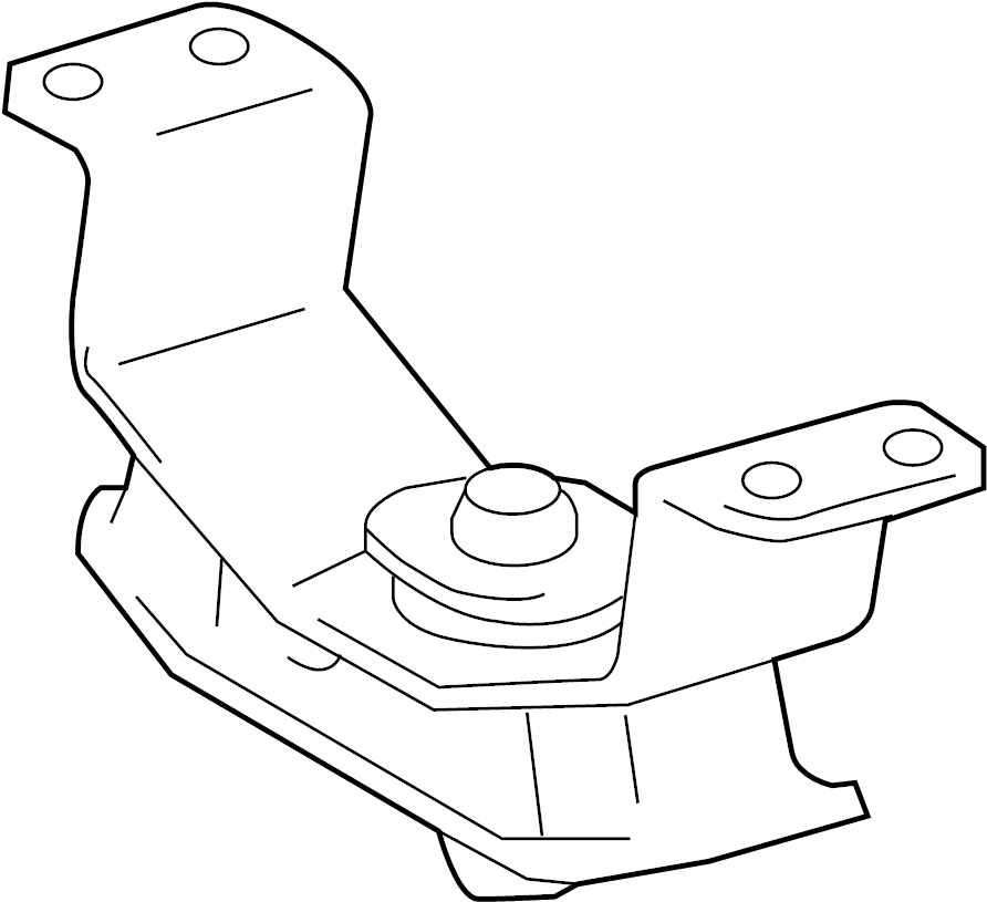 2018 Toyota Automatic Transmission Mount (Rear