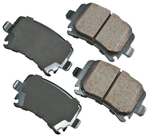 Akebono EUR1348 EURO Ultra-Premium Ceramic Brake Pad Set