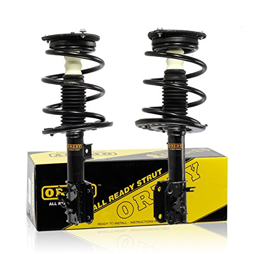 OREDY Front Left & Right 2 Pieces Quick Complete Shock Strut Coil Springs Assembly Kit 11335 11336 XS857170422 XS857170321 Fits for 2009 2010 2011 2012 2013 2014 Nissan Maxima FWD