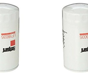 Fleetguard LF16035 Oil Filter for Dodge Ram Cummins Engines Diesel (2 Packs)