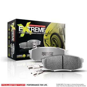 POWERSTOP Z26-1386 Rear Z26 Extreme Street Performance Carbon Ceramic Brake Pads for Audi A5/S5/S4/A5/Q5