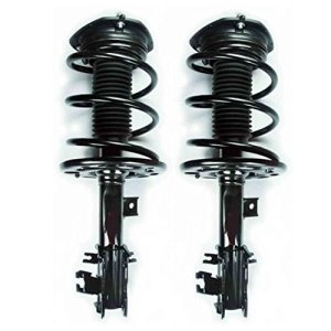 Front Driver & Passenger Side Coil Spring and Ready Strut Assembly for - 2009-2014 Nissan Maxima