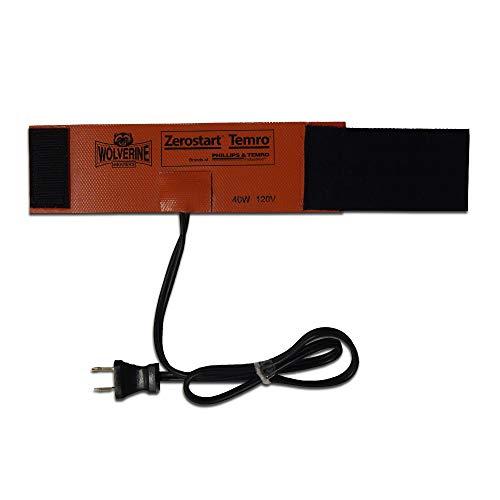Zerostart Silicone Pad Diesel Fuel Filter Heater Wrap | 120 Volts | 40 Watts