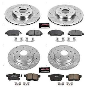 Power Stop K5546 Front & Rear Z23 EvolutionSport Brake Upgrade Kit