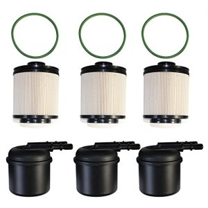 3set Engine Fuel Filter Kit Repl for Ford F-250 F-350 F-450 F-550 Super Duty 6.7
