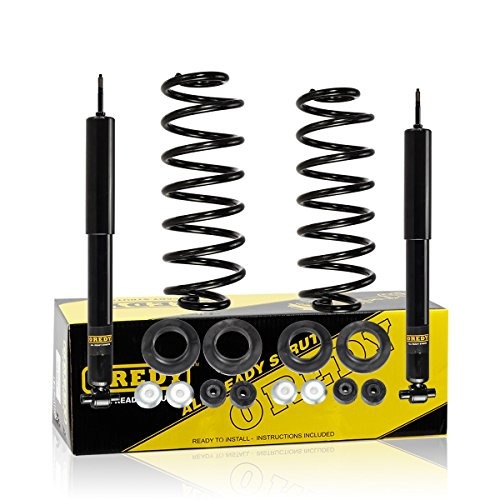 OREDY Rear Left and Right Air Spring to Coil Conversion Kit