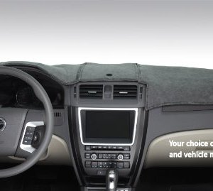 DashMat SuedeMat Dashboard Cover Dodge Ram (Faux-Suede, Smoke)