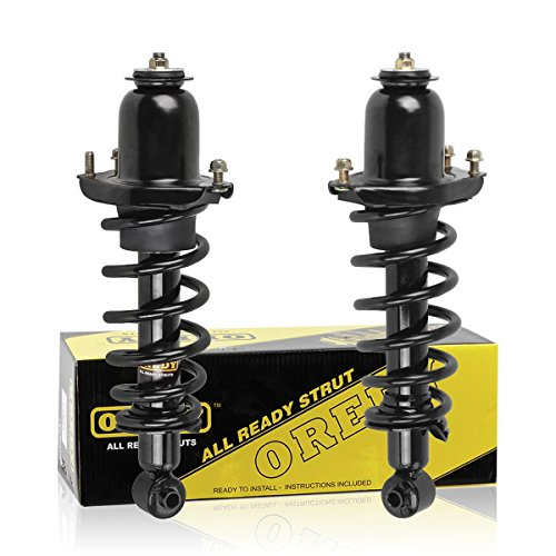 OREDY Rear Pair 2 Pieces Complete Quick Struts Shock Coil Spring Assembly Kit