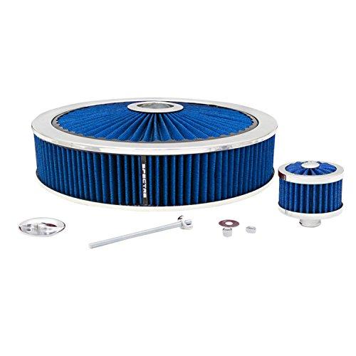"Spectre Performance 847621 Blue 14"" X 3"" Extraflow Air Filter Value Pak"