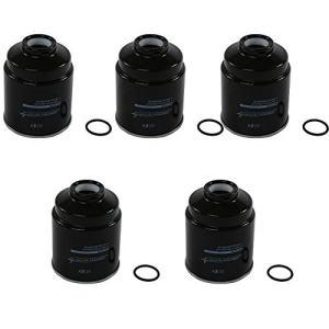 JDMSPEED New 5 Pcs Fuel Filter Rear Water Separator