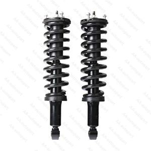 Pair Rear Left/Right Quick Strut & Coil Spring Complete Assembly Shock Absorber