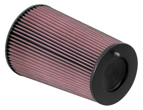 K&N RC-5171 Universal Clamp-On Air Filter: Round Tapered; 4 in (102 mm) Flange ID