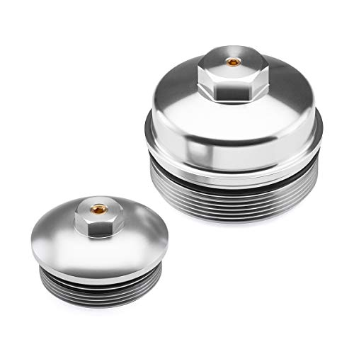 BlackPath - Ford Fuel and Oil Cap Set Super Duty