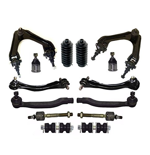 PartsW 14 Pc Front & Rear Suspension Kit Best Price Car