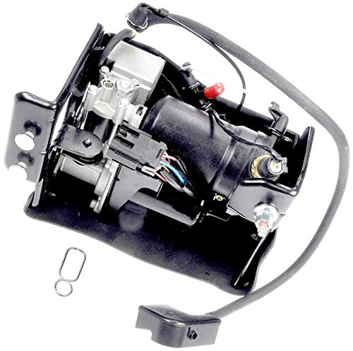 APDTY Air Suspension Compressor Assembly w/Dryer & Steel Mount Housing