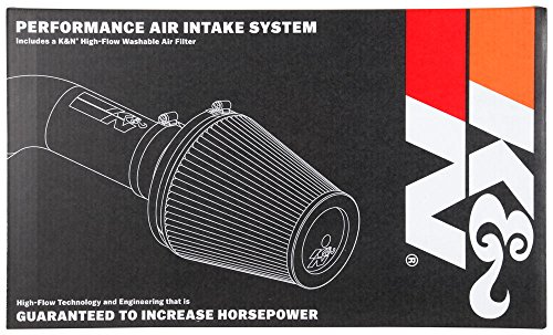 K&N Performance Cold Air Intake Kit with Lifetime Filter for Dodge Ram