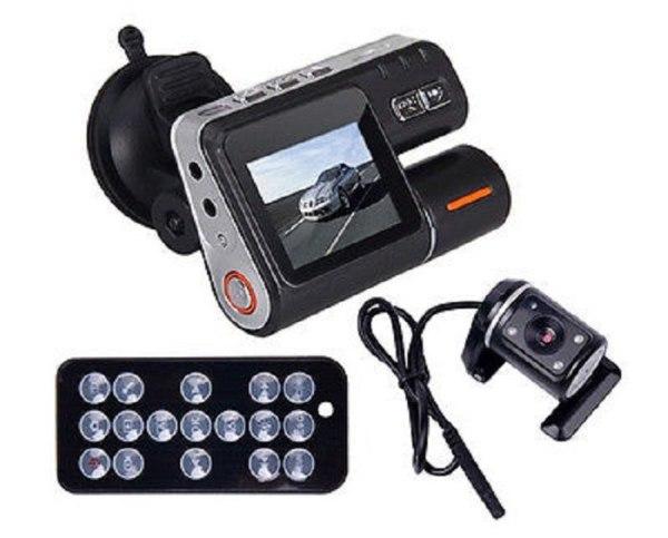 HD DVR 120 Car Dash Cam Recorder 720P Dual Camera