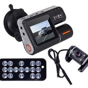 HD DVR 120 Car Dash Cam Recorder 720P Dual Camera