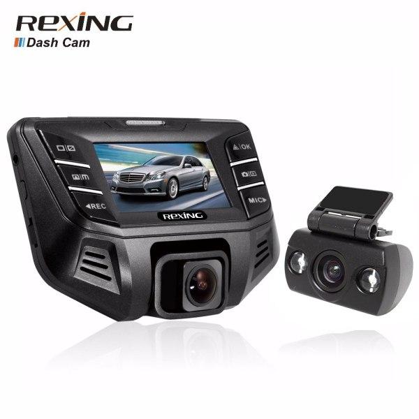 Rexing S500, 1080p +480P Dual Camera, Car Dvr Camera Dash Cam