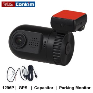Conkim Mini Car Camera Full HD 1296P Dash Cam